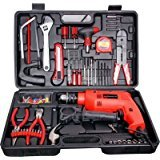 CHILLAXPLUS 13mm Impact Drill With 101Pc...