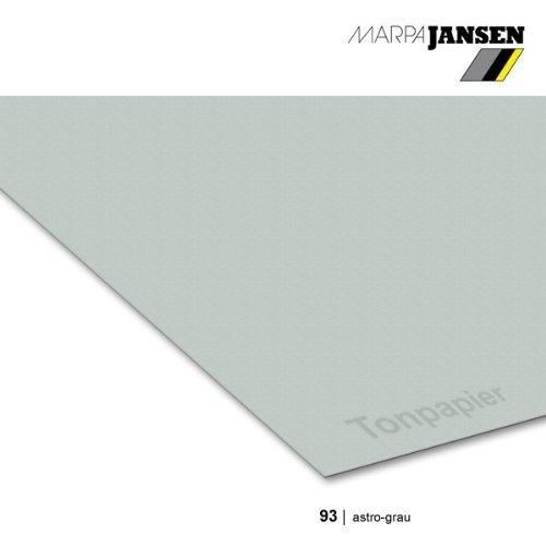 Tonzeichenpapier 130g/m² DIN A3, 93 astro-grau - 50er Pack
