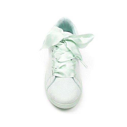 Sapatos Ideais Sapatilha Senhoras Verde Sapatos Senhoras Ideais UCRHxqwTT