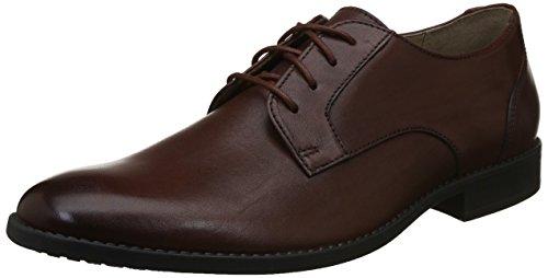 Clarks Men's Garian Plain British Tan Leather Formal Shoes