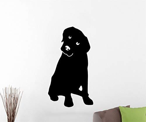 wandaufkleber 3d Wandaufkleber Schlafzimmer Hund Wand Tier Aufkleber schöne Abziehbilder für Kinderzimmer Kinder Schlafzimmer Wohnzimmer