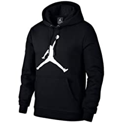 Nike Air Jordan Flight Fleece Jumpman Air Po Black White