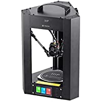 Monoprice Mini Delta 3D Printer With (110 x 110 x 120 mm) Heated Build Plate, Auto Calibration, Fully Assembled for ABS & PLA + Free MicroSD Card Preloaded With Printable 3D Models preiswert