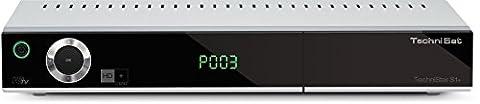 TechniSat TECHNISTAR S1+ - HD Satelliten Receiver (HDTV, DVB-S2, HDMI, SCART, PVR-Ready, USB 2.0, UPnP, Ethernet, HD+ Karte)