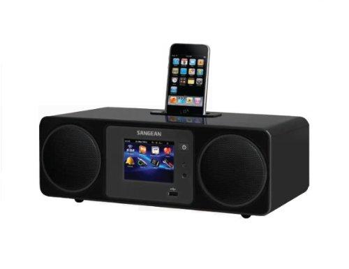 Sangean WFR-2D Internetradio mit DAB+ Network Music Player USB UKW-RDS Digitalempfänger