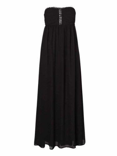 Vero Moda Ballkleid Abendkleid Queen schwarz Gr. 40