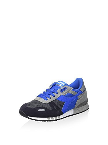 Diadora Titan Ii Scarpe Low-Top, Unisex adulto Carbone/Blu