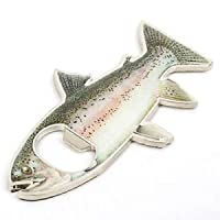 Banggood Rainbow Steel Trout Magnetic Bottle Opener Great gift for Fishermen / Lover