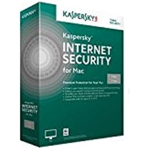 Kaspersky Lab Internet Security Mac 2015 - Seguridad y antivirus (1 usuario(s), 1 Año(s), 500 MB, 1024 MB, Mac OS X 10.7 Lion, Mac OS X 10.8 Mountain Lion, Mac OS X 10.9 Mavericks,