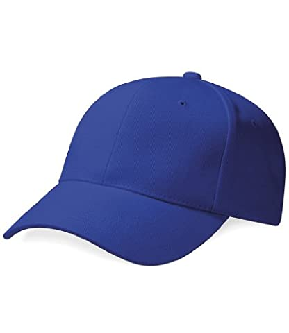 Beechfield Pro-style heavy brushed cotton cap in Forest