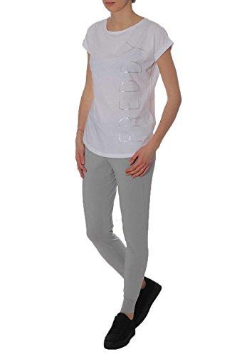 FREDDY - Pantalon de sport - Femme taille unique G51W Grigio Bianco