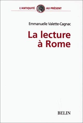 La lecture à Rome