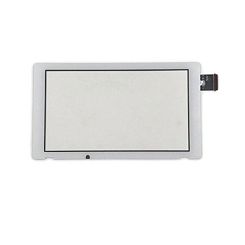 Ersatz Digitizer Bildschirm Unten LCD Touch Screen Objektiv für Nintendo Switch NS (Weiß) (Schalter Ersatz-linsen)