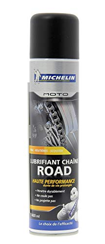 Michelin 008805 Moto Lubrifiant Chaîne Road, 400 ml