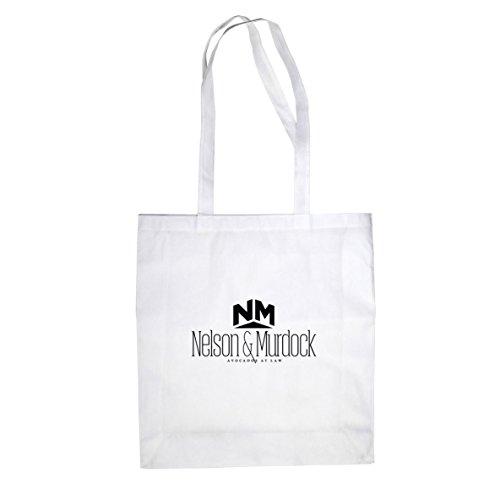 Weiß Kostüm Elektra - Planet Nerd Nelson Murdock Avocados - Stofftasche/Beutel, Farbe: weiß