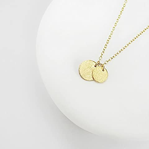 JOAN - delicate necklace out of 24K gold plated sterling silver