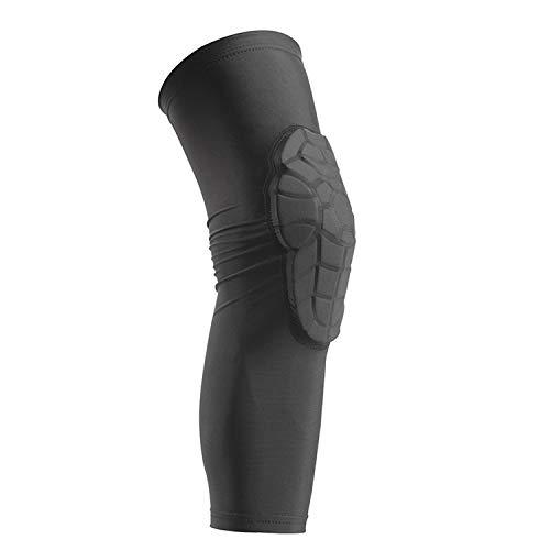 Kniebandagen für Kinder, für Sport, Basketball, Ski, Skateboard, Beinschutz, Schwarz, S
