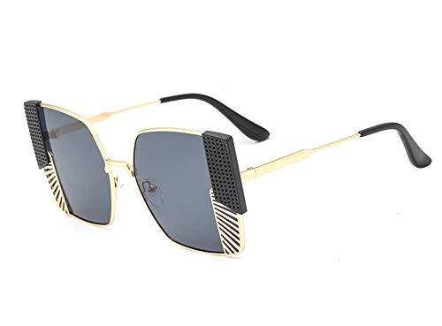 GFF Bunte quadratische Sonnenbrille-Mann-Frauen-einzigartige Schutzbrille 48008 Weinlese-Marken-Gläser UV400