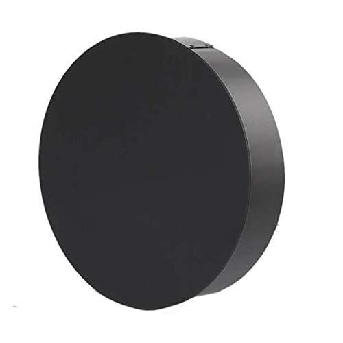 Ø 150 mm - Ofenrohr Blindkappe Schwarz