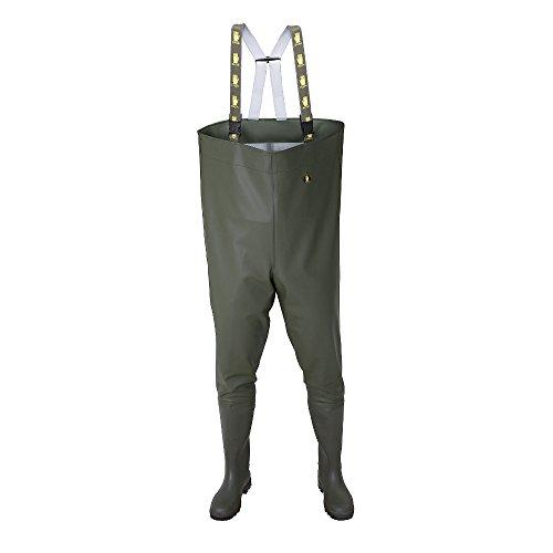 SB01 Wathose Anglerhose Watthose Angelhose Teichhose Stiefel PVC Hose Wanderhos -