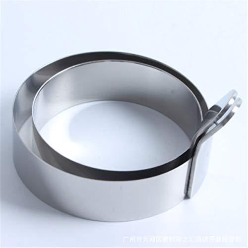 BENEKING 4 Paket Edelstahl Omelett Form Ei Ring Kochen Antihaft Pancake Ring Metall Küche Kochwerkzeug