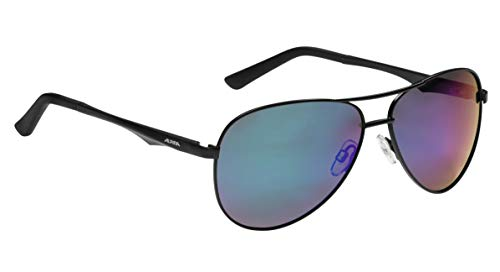 Alpina A 107 P Outdoorsport-Brille, Black Matt, One Size