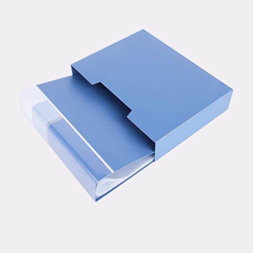 Öffnen von Büchern A4 Folderseite Einlegen von Bags Papieren Archives Book Bag Multilayer Schülerpapiere ( Size : Page100 ) (Magnetische Kalender-halter)