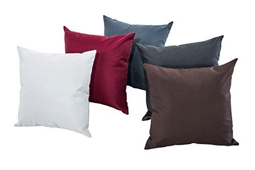 CLP Set da 6 pz di cuscini decorativi per arredo esterno, cuscini ...