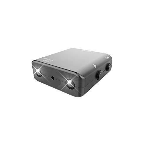Kleinste Microsd (YOZOOE Webcams Spion Kamera, Spy Gear Auto Dash Cam Kleinste versteckte Kamera, 1080P Full HD Kamera XD Mini Camcorder Micro Infrarot Nachtsicht Cam Motion Detection IR-C)