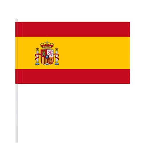 """Preisvergleich Produktbild Papierfähnchen """"Spanien"""" (25 Stück)"""