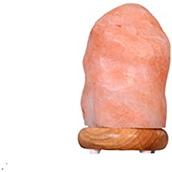 Himalayan Medium Salt Lamp 5-7 Lbs - Bath House Inspired Salt Lamps – Himalayan Pink Salt for Home Decor - Ionizer and Air Purifiers - Made with All Natural Salts and Minerals
