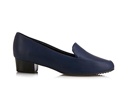 Piccadilly  PICCADILLY 140097, Sandales Compensées femme Noir - Bleu marine