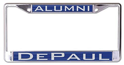 Wincraft DePaul University Alumni Premium Kennzeichenrahmen - Papa License Plate Frame