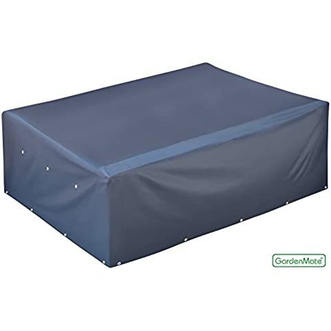 GardenMate® Funda protectora para mesa de jardín tela de Oxford 220 g/m² 200x160x70cm