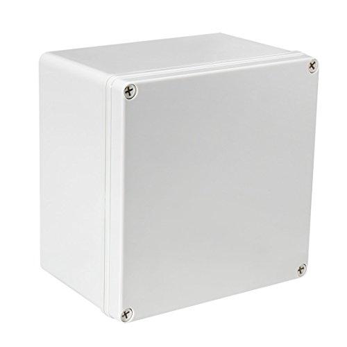 Sourcingmap 200x 200x 130mm/20x 20x 13cm Rückbeleuchtung IP67Elektronische ABS Kunststoff DIY Junction Project Box Gehäuse Case Outdoor/Indoor (Elektronik-gehäuse)