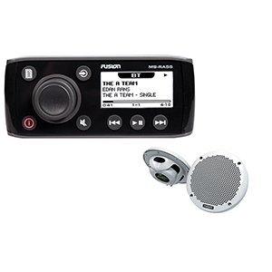 FUSION MS-RA55KTS Stereo Kit w/RA55 Unit & EL602 Speakers
