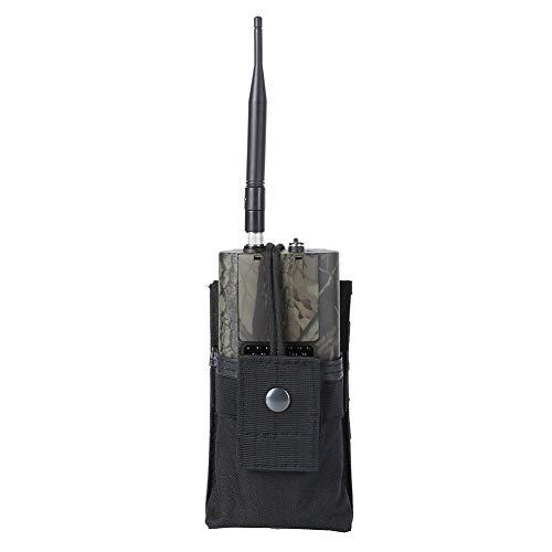 Leezo Radio Walkie Talkie Outdoor Molle System Tasche Einstellbare Taille Pouch Case Halter für die Jagd Polizei Tasche Pouch Case