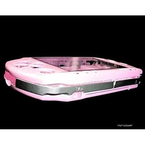 Consoles and Gadgets Sony Playstation PSP 2000 Full Metallic Pink Replacement Console Shell by Consoles (Psp 2000 Console)