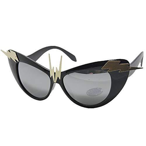 XHCP Frauen-Klassische Sonnenbrille-Rock-and-Rollart-handgemachte Dame 's Metalldekorations-Sonnenbrille-UVschutz-Sommerferien-Strand-Sonnenbrille