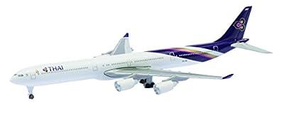 Schuco 403551648 - Airbus A340-600 Thai Airways, 1:600, Miniaturmodelle von Schuco
