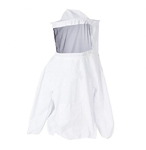 CHENGYIDA Professional Beekeeping Suit Jacket Veil Smock Dress 5
