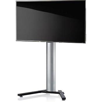 VCM 17035 Stadino Mini 1 Meuble TV Aluminium/Acier Argent