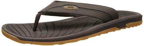 Oakley Dune Sandal Jet Black Braun
