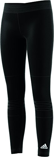 adidas Mädchen ID Mesh 3-Streifen Tights, Black/White, 140 (Leggings Mesh Adidas)
