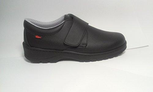 Dian Milán-scl - Zapato de trabajo unisex-adulto, talla 36, color negro