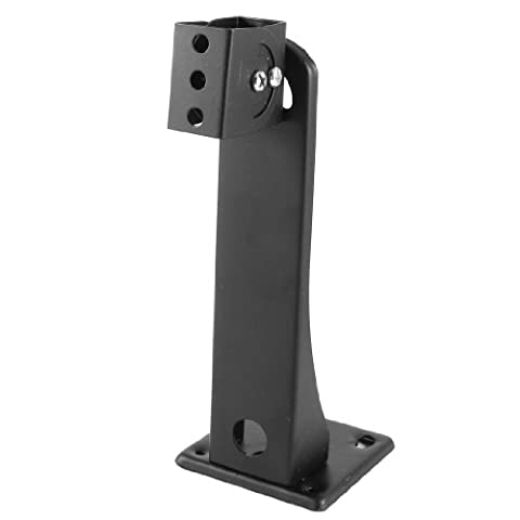 sourcingmap® Security System Surveillance Wall Mounted CCTV Camera Stand Holder Bracket Black