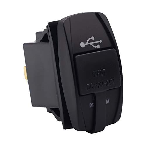 Zócalo Universal del Cargador USB del Coche con el zócalo de Poder...