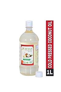 Ayyan Cold Pressed Coconut Oil (Virgin, Chekku/Ghani) - 1 Litre
