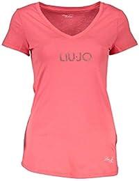 e2a4561c431c Liu Jo WXX015 JC231 T-Shirt Maniche Corte Donna