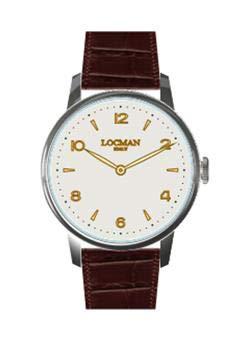 Reloj Solo Tiempo Hombre Locman 1960 clásico cód. 0251A05R-00AVRG2PT
